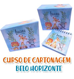 CURSO CARTONAGEM PRESENCIAL BELO HORIZONTE