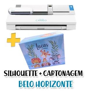 Silhouette Iniciante + Cartonagem BELO HORIZONTE
